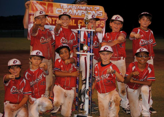 Central Alabama Crush 10U State Champions