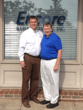 Encore Rehabilitation- Paige Plash, PT and Paul Henderson, PT