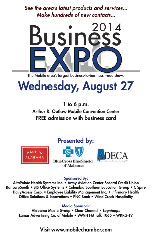 Mobile Area Chamber of Commerce Business Expo | Encore ...
