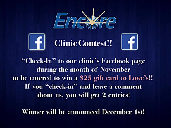 Encore Contest