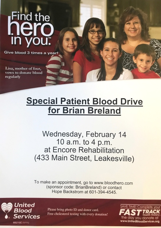 BloodDrive Brian Breland Leakesville