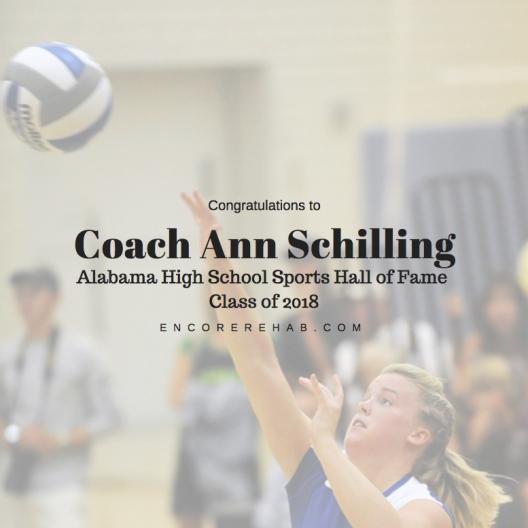 Coach Ann Schilling