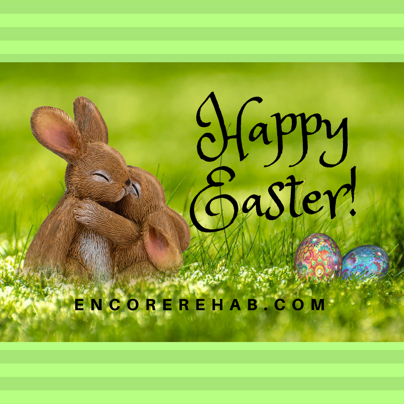 Happy Easter from Encore Rehabilitation, Inc.!