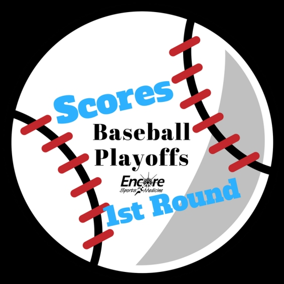 AHSAA Baseball Scores 1stRound