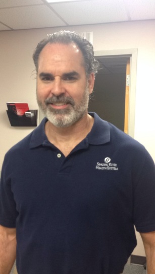Physical Therapist Jim Hunt of St. Martin Physical Therapy, Ocean Springs, Mississippi