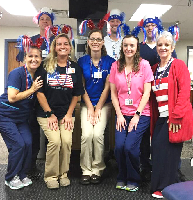Andalusia Staff July 4 2018