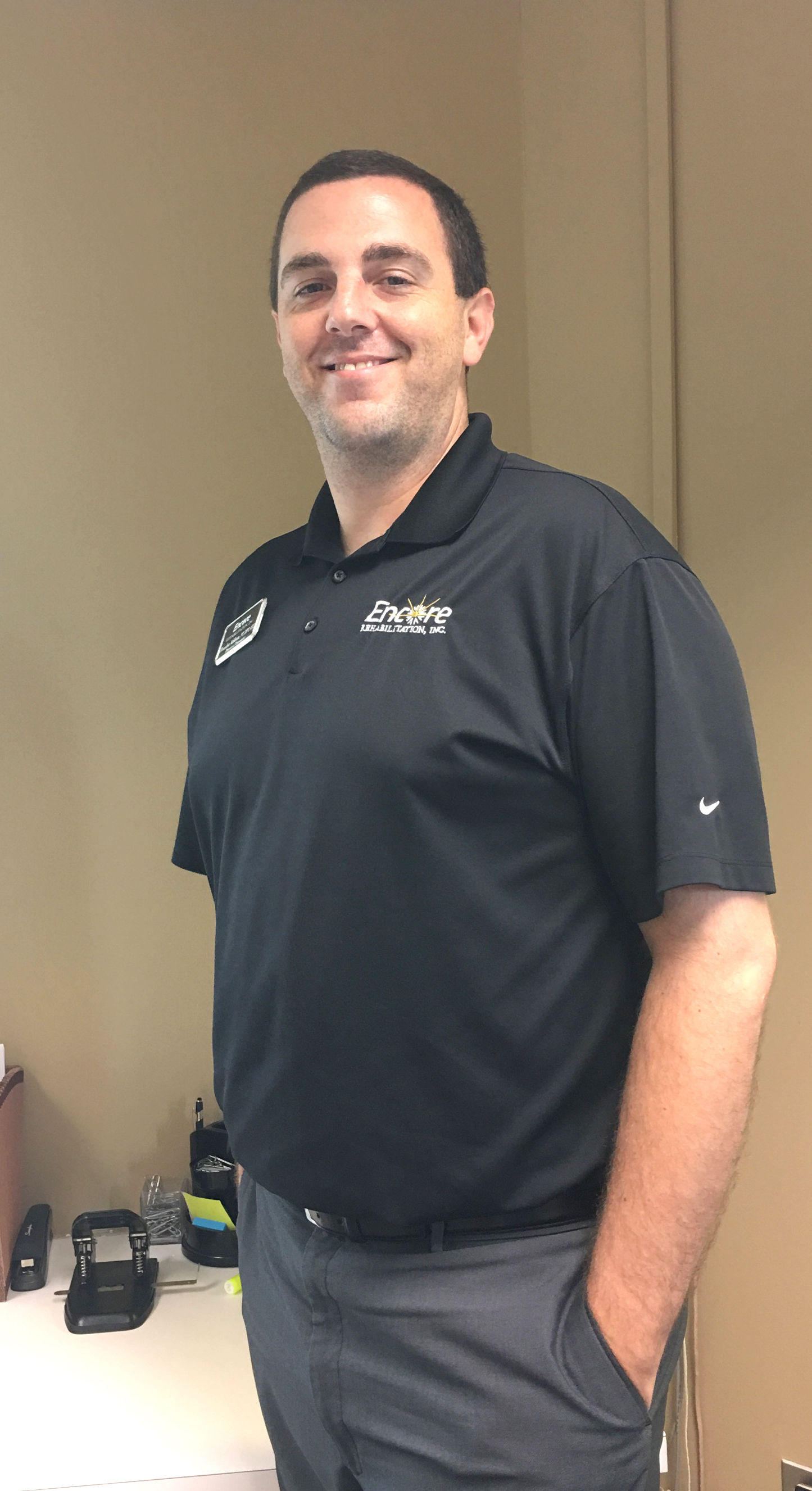 Encore Rehabilitation-Eufaula Clinical Director Brandon Addison, DPT, ATC