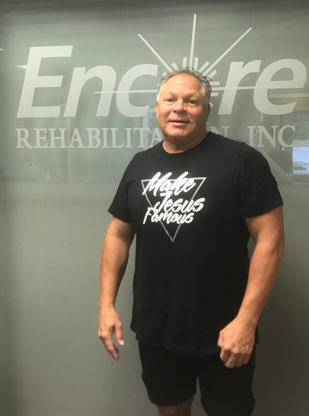 Emilio Sanchez is Patient of the Month for Encore Rehabilitation-Decatur