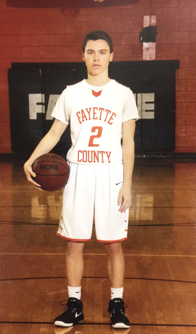 Harrison Whitley, Athlete of the Month for Encore Rehabilitation-Fayette