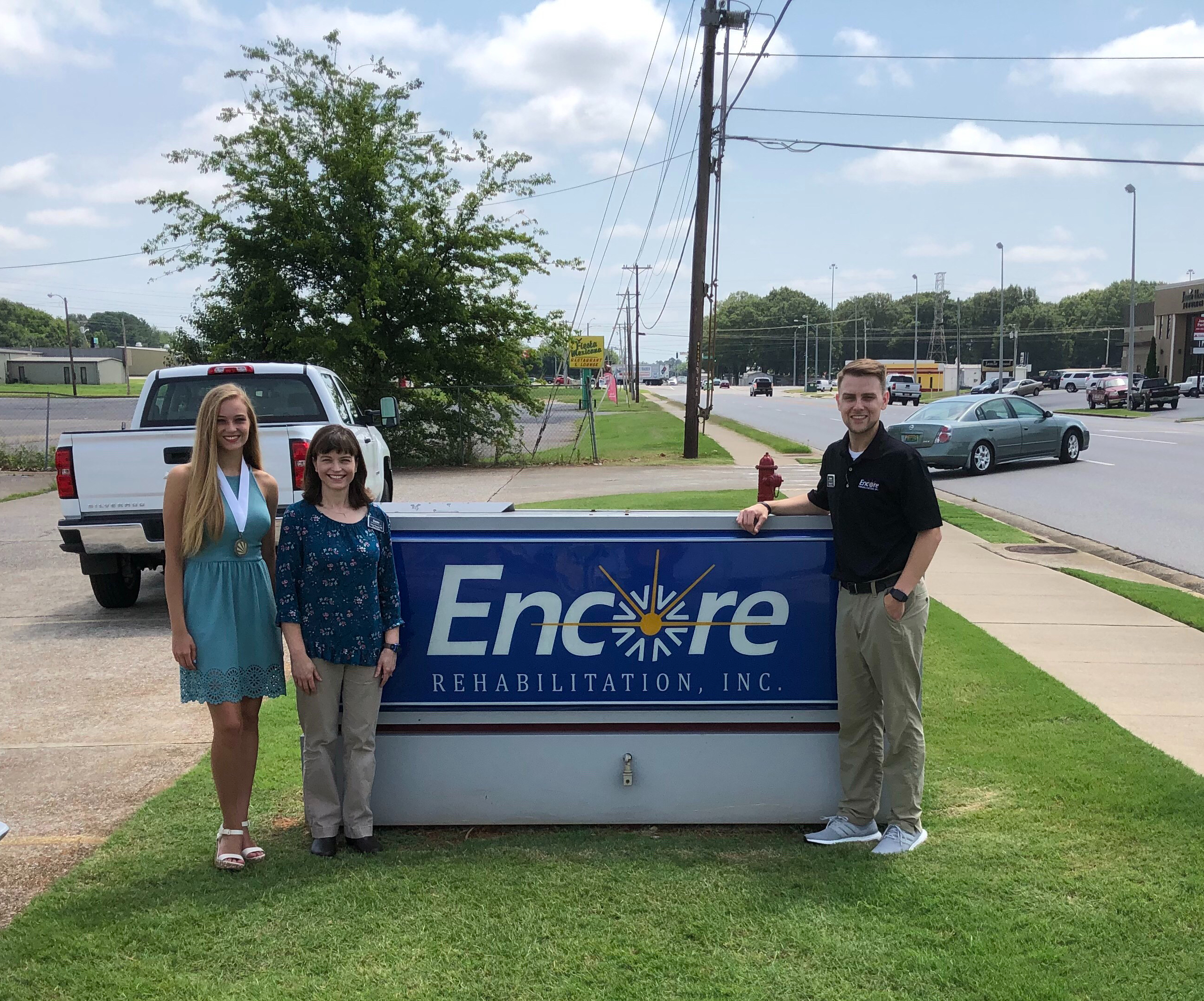 Encore Rehabilitation-Muscle Shoals is proud to support Distinguished Young Women
