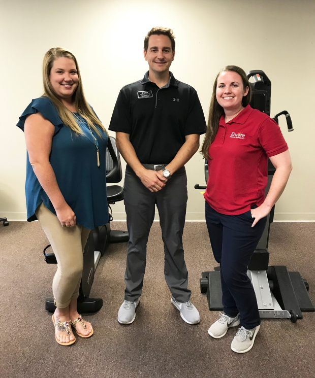 Encore Rehabilitation-Homewood Staff: Lacey, Adam, and Jodi