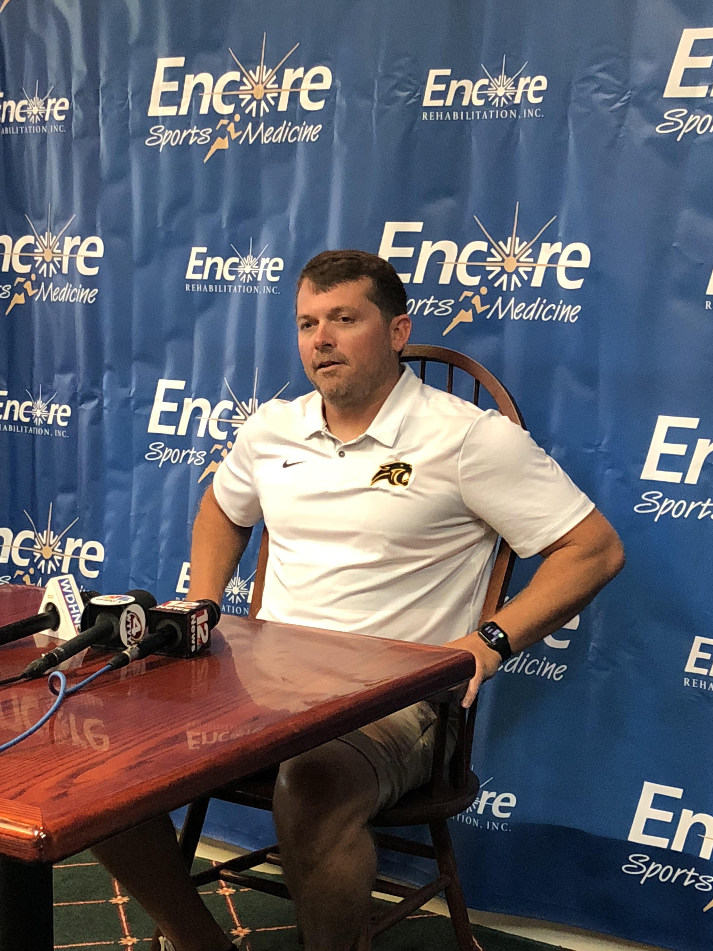 Head Football Coach Josh Cox - Wicksburg High School