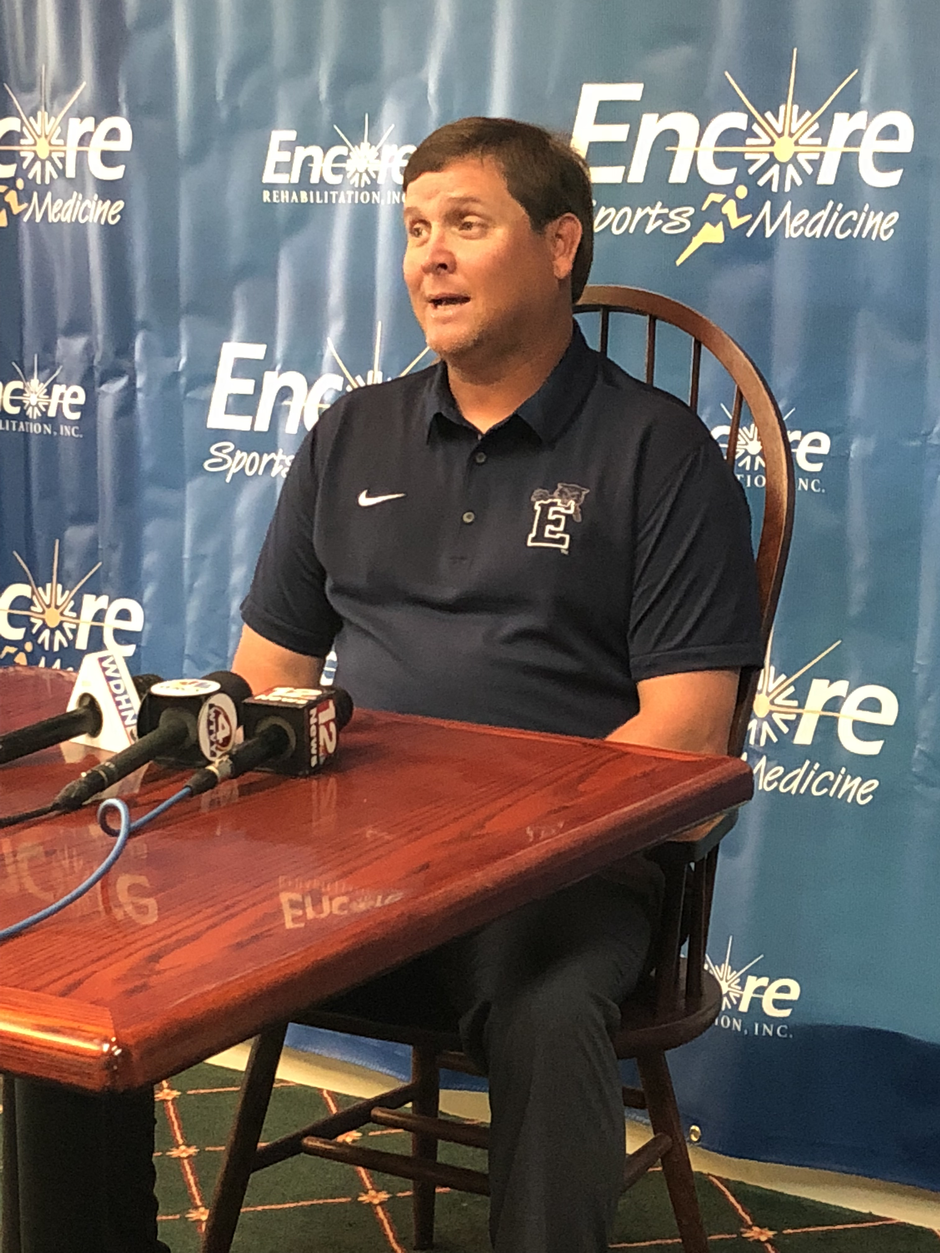 Head Football Coach David Faulkner - Enterprise High School