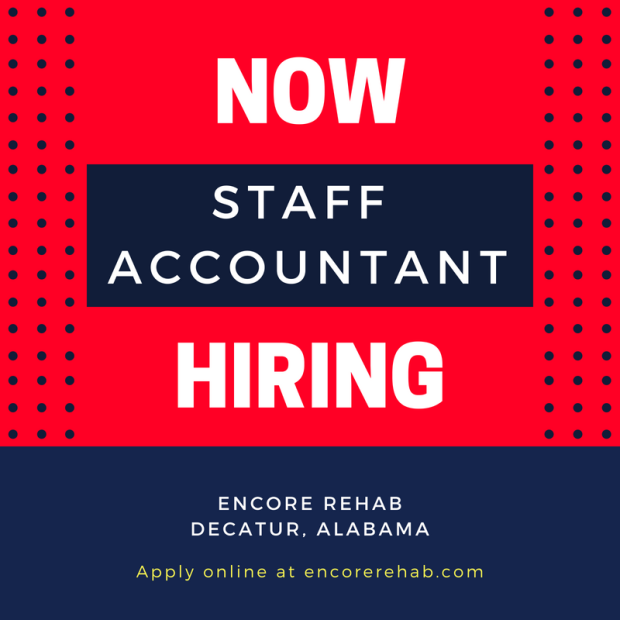Now Hiring Staff Accountant Decatur