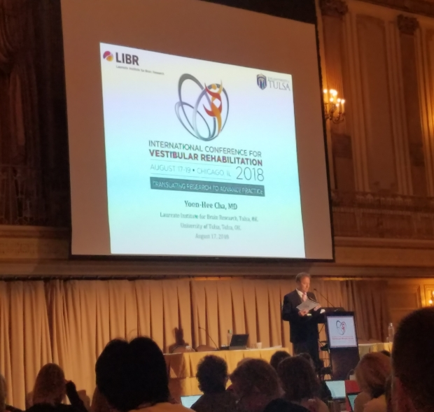 International Conference for Vestibular Rehabilitation in Chicago, IL, August 2018