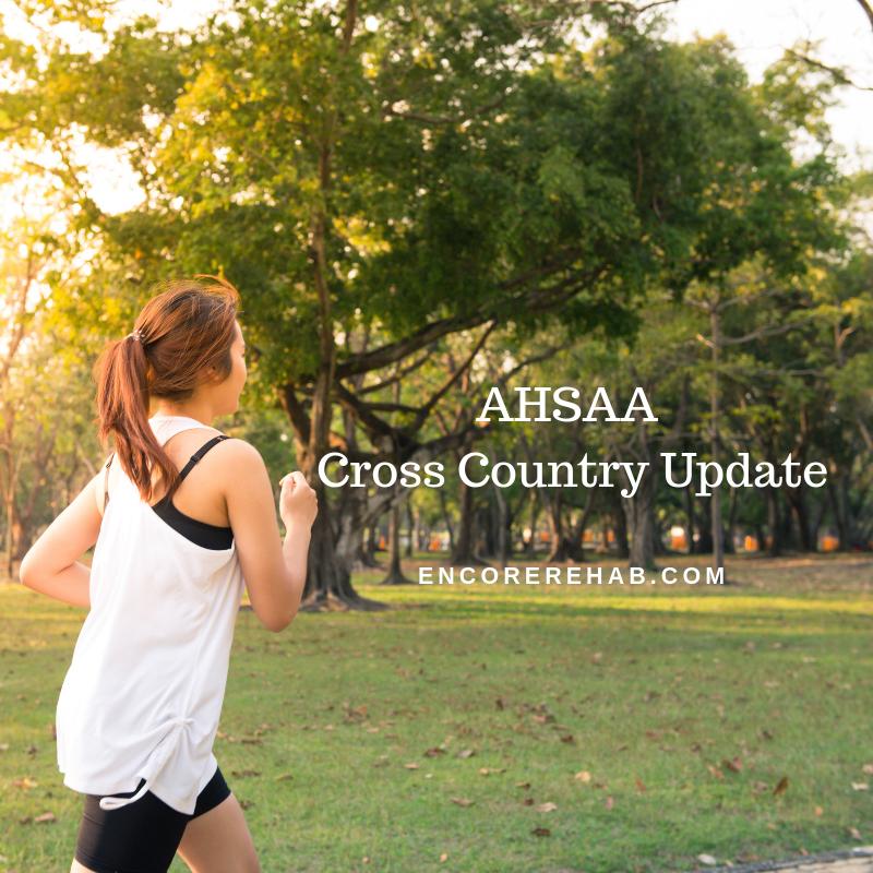 AHSAA Cross Country Update