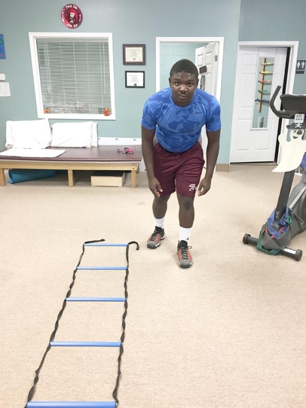 Dennis Andrews is Athlete of the Month for Encore Rehabilitation-Long Beach. #EncoreRehab