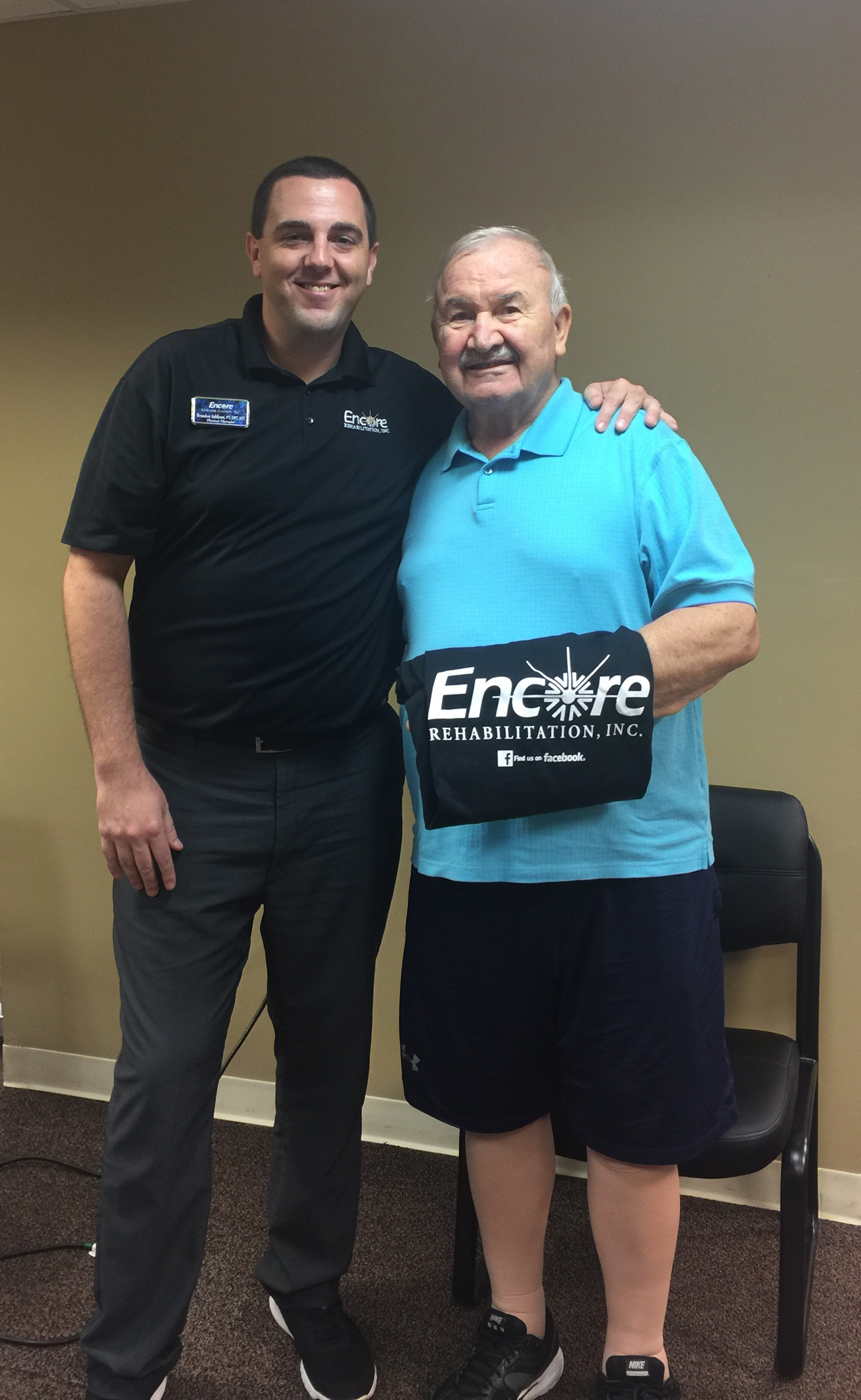 Ewald Jeltsch - Patient of the Month for Encore Rehabilitation-Eufaula, Alabama
