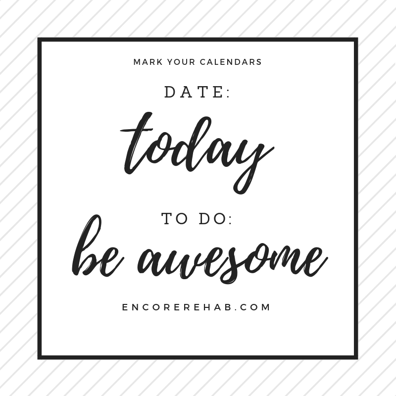 Today Be Awesome