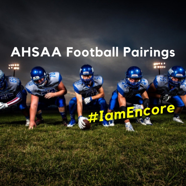 AHSAA Football Pairings #EncoreRehab