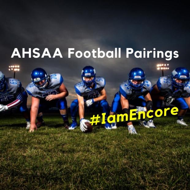 AHSAA Football Pairings #EncoreRehab