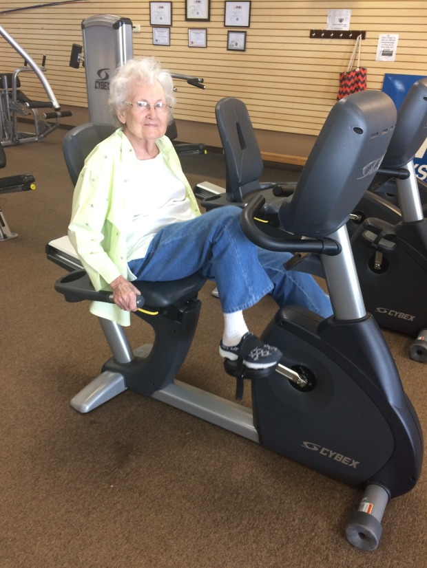 Bertha Hyde is Patient of the Month for Encore Rehabilitation-Haleyville #EncoreRehab