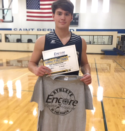 Gavin Whaley - Athlete of the Month for St. Bernard Preparatory School and Encore Rehabilitation-Cullman
