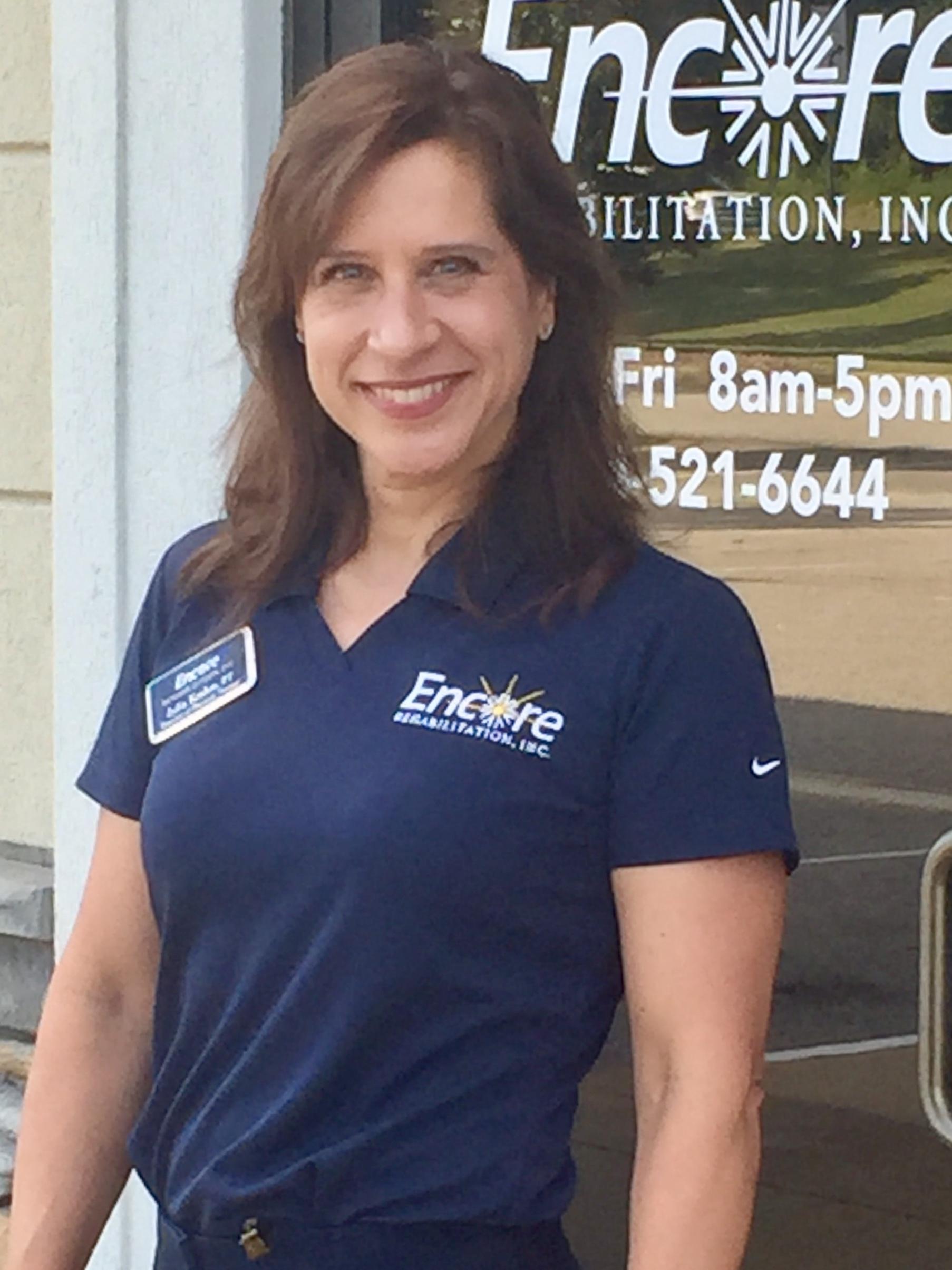 Clinical Director Julia Krahm, DPT, with Encore Rehabilitation-Phenix City
