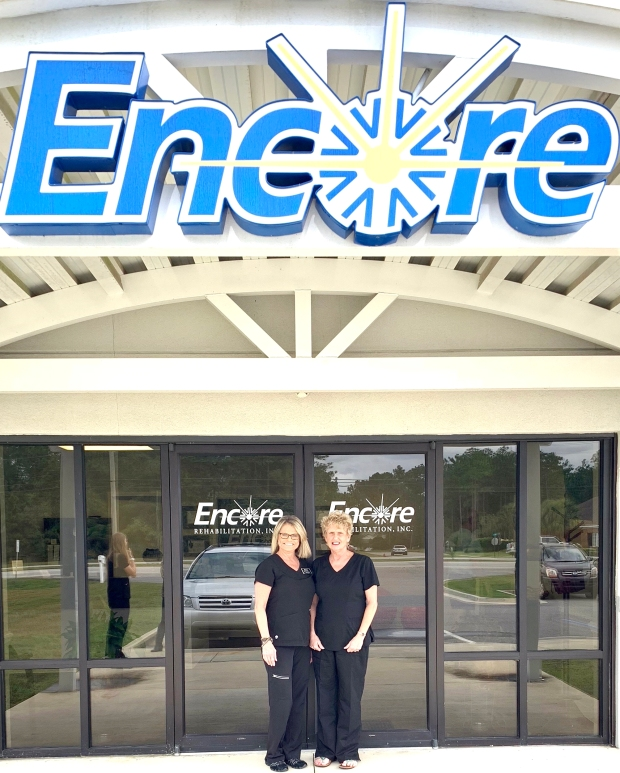 Encore Rehabilitation-Spanish Fort Office Staff ~ Marsha Bullock and Peggy Alexander #EncoreRehab