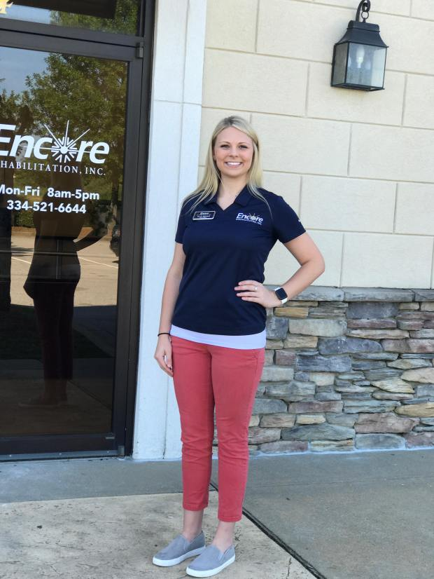 Sarah Mitchell - Encore Rehabiltiation-Opelika #EncoreRehab