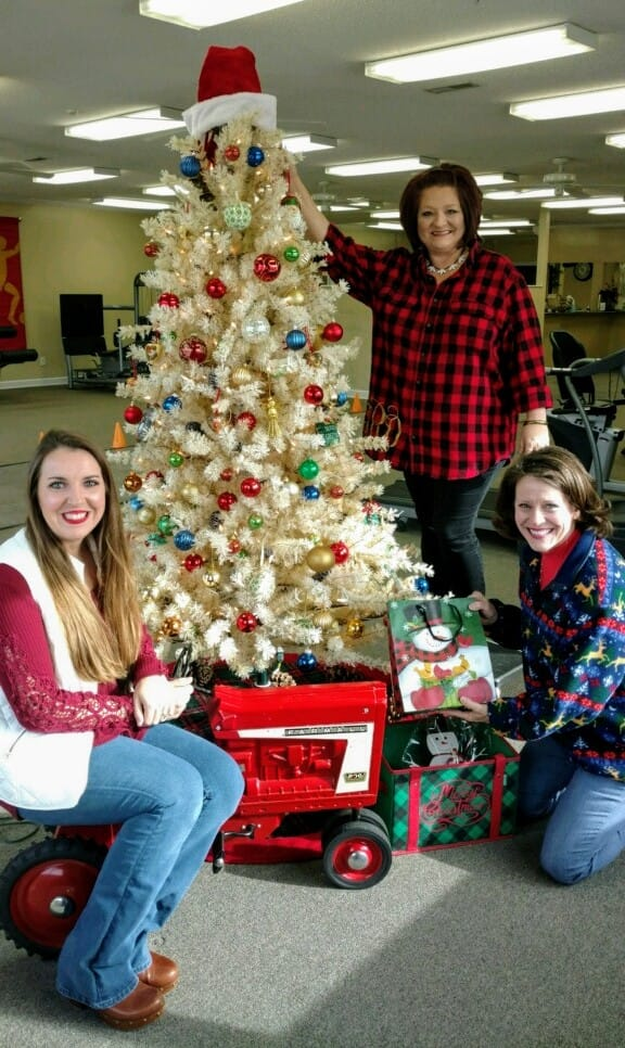 Merry Christmas from Allison, Tammy, and Lydia at Encore Rehabilitation-Arab!