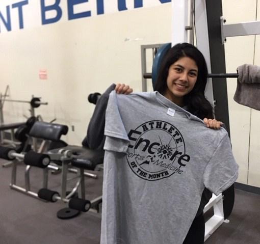 Bridget Gallegos is Athlete of the Month for St. Bernard Preparatory School and Encore Rehabilitation-Cullman #EncoreRehab