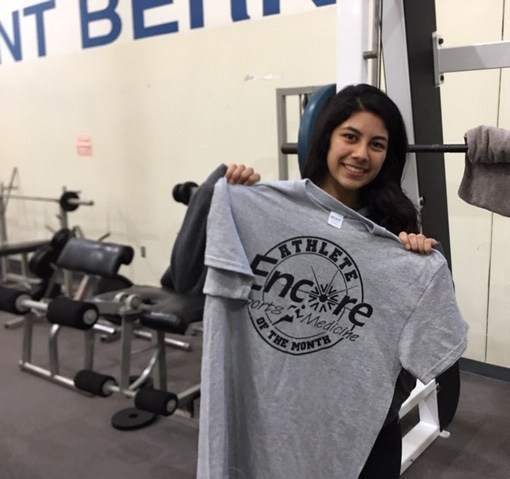 Bridget Gallegos is Athlete of the Month for St. Bernard Preparatory School and Encore Rehabilitation-Cullman #EncoreRehab