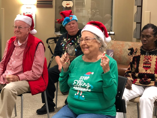 Ocean Springs Neurological Vestibular Rehab & Encore Rehabilitation held their Annual Support Group Christmas Party #EncoreRehab