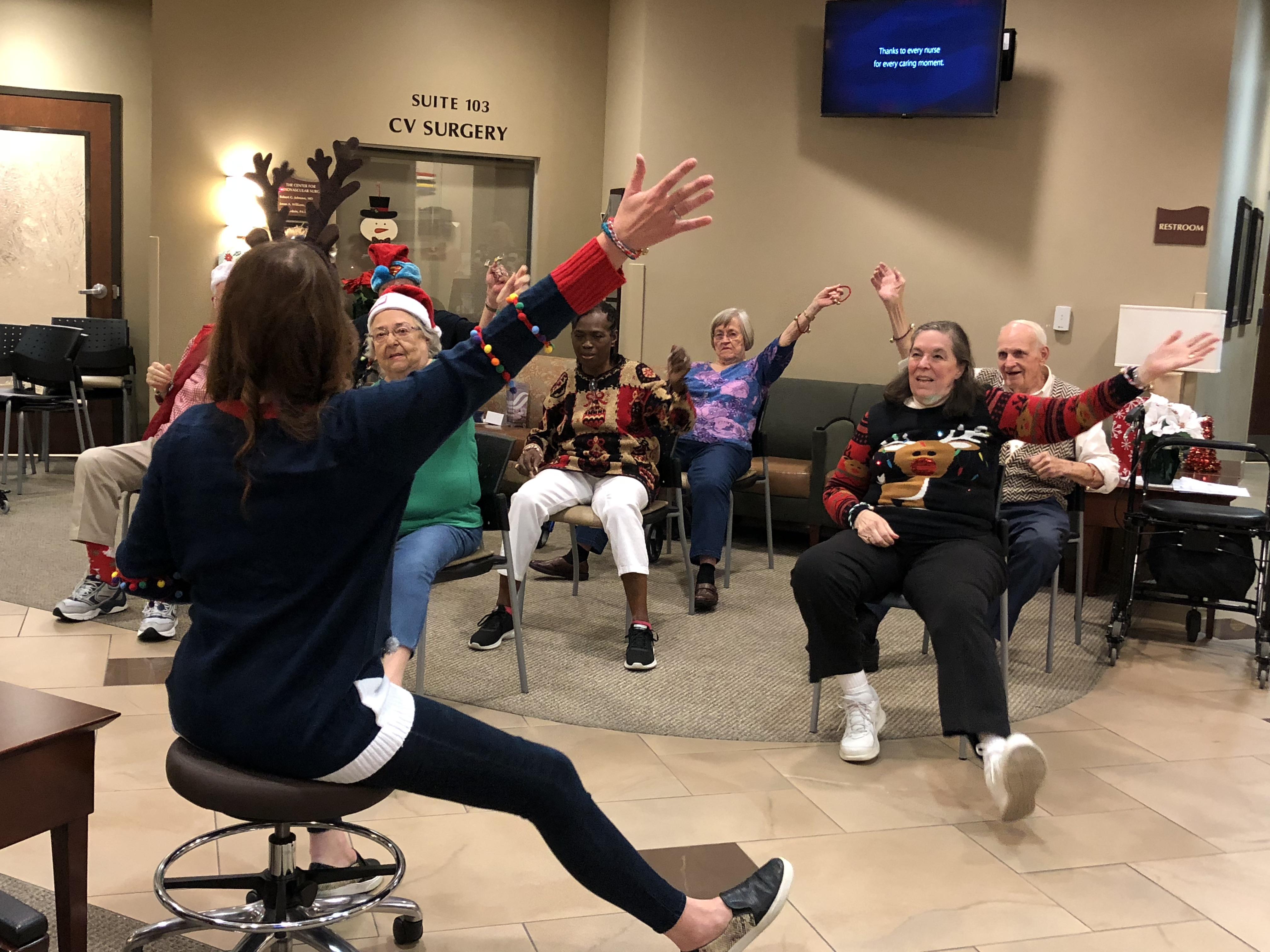 Ocean Springs Neurological Vestibular Rehab & Encore Rehabilitation held their Annual Support Group Christmas Party #EncoreRehab
