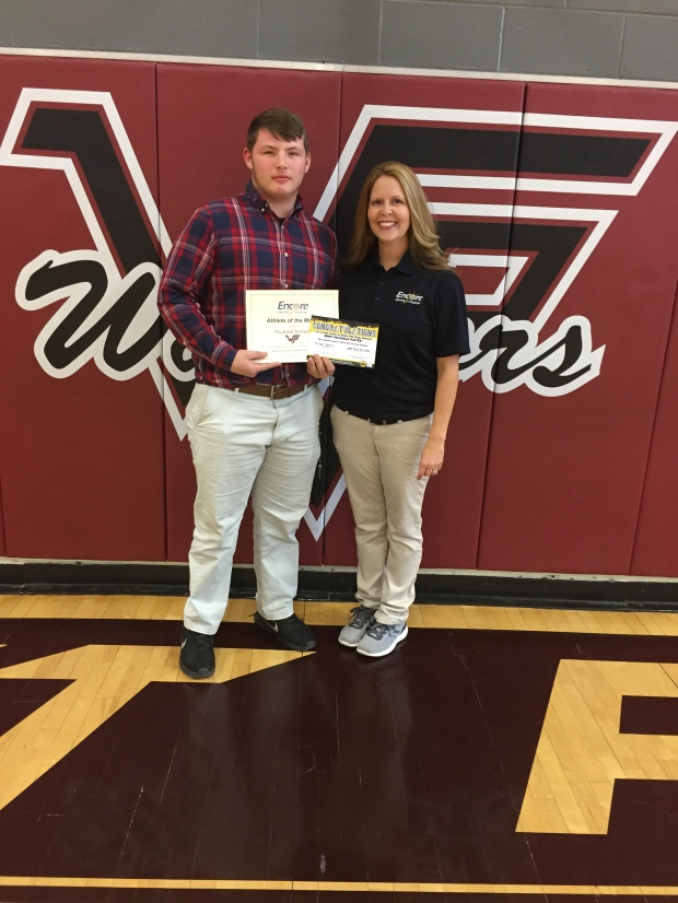 Michael Roberts is Athlete of the Month for West Point High School and Encore Rehabilitation-Cullman #EncoreRehab
