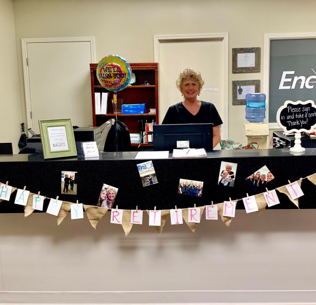 Regional Office Manager Peggy Alexander of Encore Rehabilitation-Spanish Fort retires today. We will miss you, Peggy! #EncoreRehab