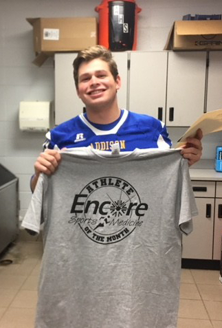 Jeb Robinson is Athlete of the Month for Addison High School and Encore Rehabilitation-Cullman #EncoreRehab
