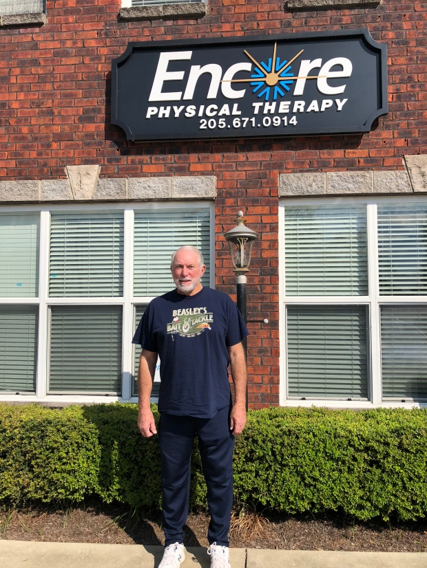 More Balance and Strength for Buddy Beasley at Encore Rehabilitation-Columbiana