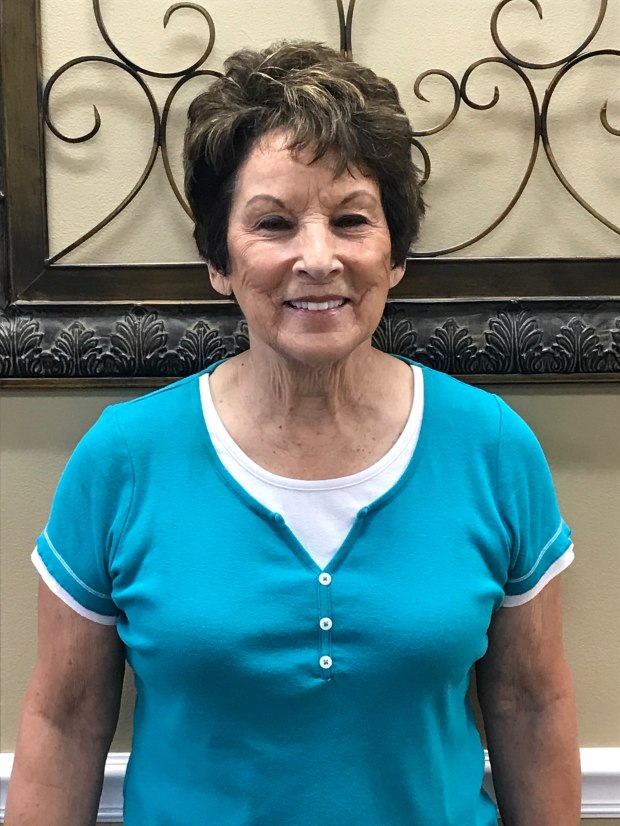 Betty Houston - Patient of the Month for Encore Rehabilitation-Clanton