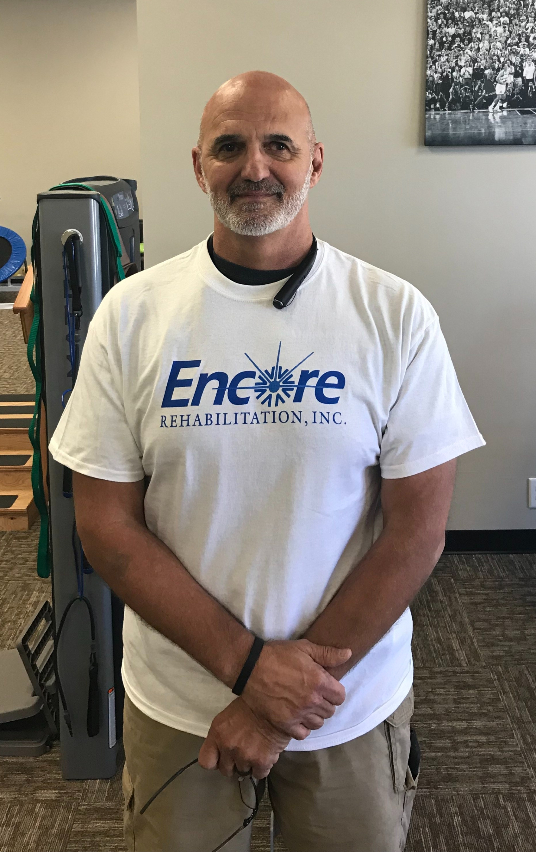 James Thrift - Patient of the Month for Encore Rehabilitation-Opelika #EncoreRehab