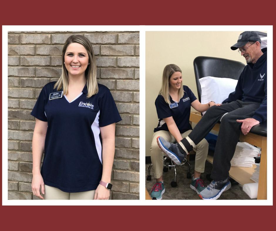Physical Therapist Jordan Lawler at Encore Rehabilitation-Hamilton
