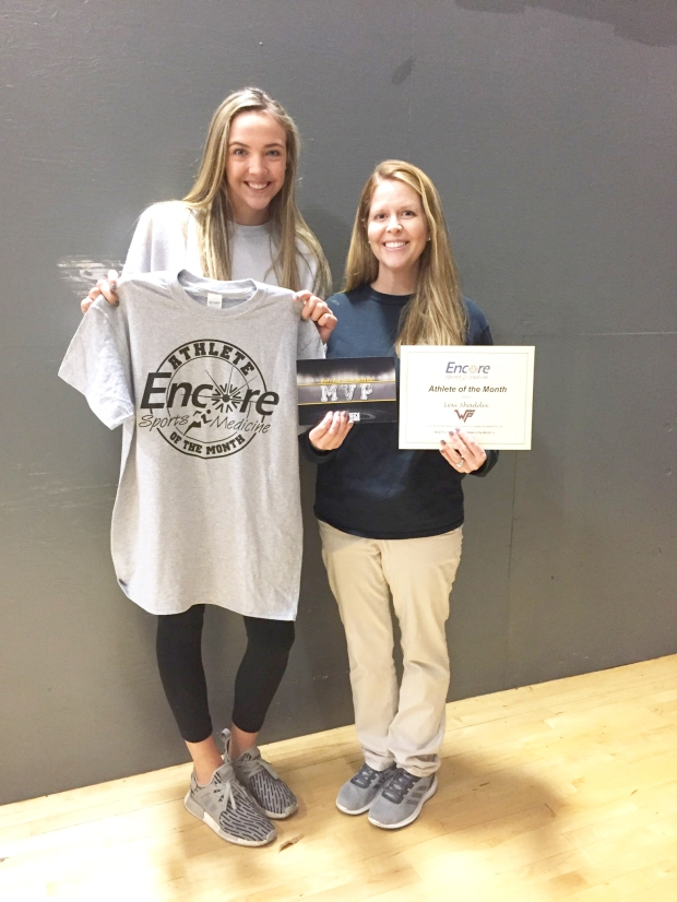 Lexi Shadix is Athlete of the Month for West Point High School and Encore Rehabilitation-Cullman #EncoreRehab