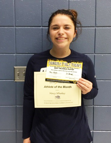 Macey Whaley - Athlete of the Month for St. Bernard Preparatory School and Encore Rehabilitation-Cullman #EncoreRehab