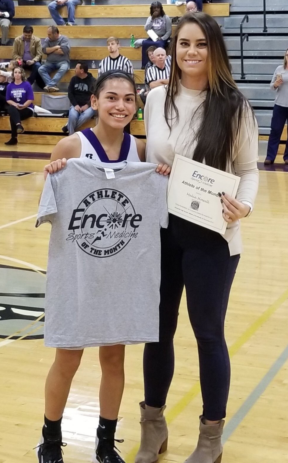 Malia Howell is Athlete of the Month for Hanceville High School and Encore Rehabilitation-Cullman #EncoreRehab