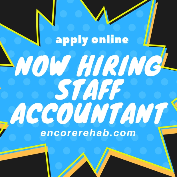 Now Hiring Staff Accountant