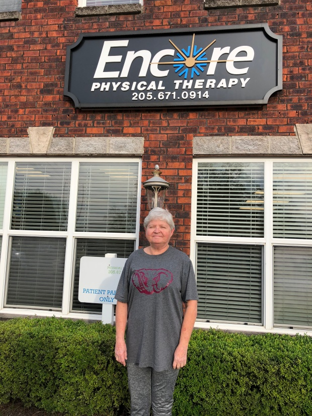 Pattie Ellison is Back to work pain-free with help from Encore Rehabilitation-Columbiana #EncoreRehab