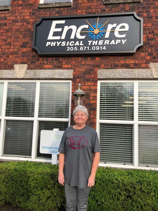Pattie Ellison is Back to work pain-free with help from Encore Rehabilitation-Columbiana #EncoreRehab