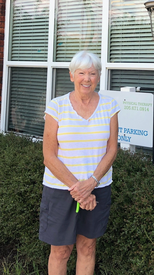 Susan Richardson is Patient of the Month for Columbiana #EncoreRehab