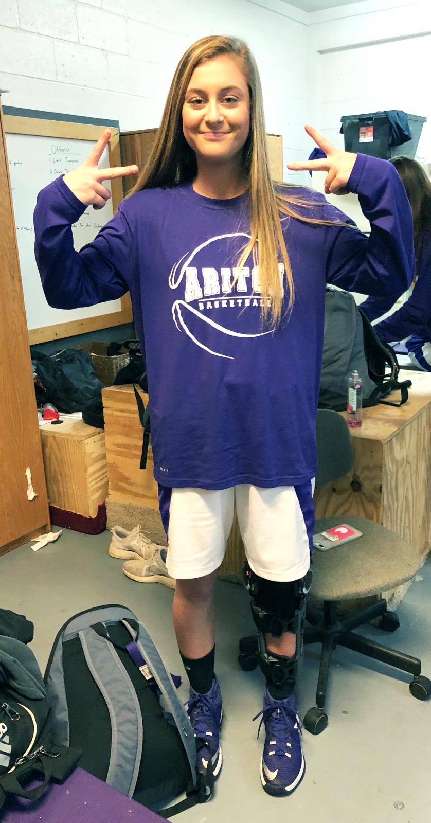 Emily Stevens is Athlete of the Month for Encore Rehabilitation-Ozark #EncoreRehab